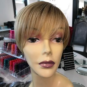 Accessories - Ombré wig blonde mix summer styling wig pixie cut